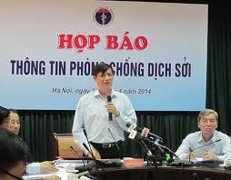 Thứ trưởng BYT Nguyễn Thanh Long họp báo về dịch sỡi (18/4/2014)