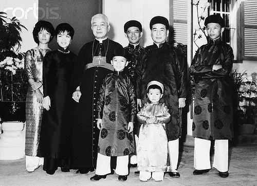 Gia định họ Ngô những năm 1050s-1960s (Ảnh Corbis)